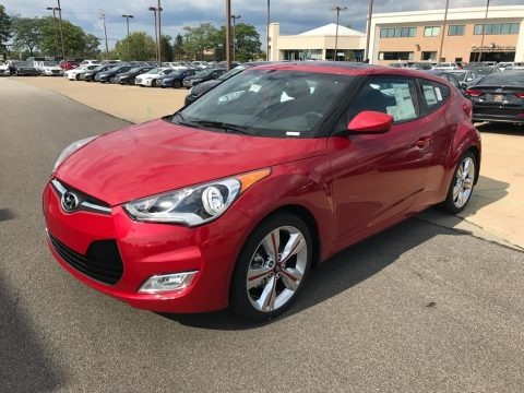 Boston Red 2017 Hyundai Veloster Value Edition