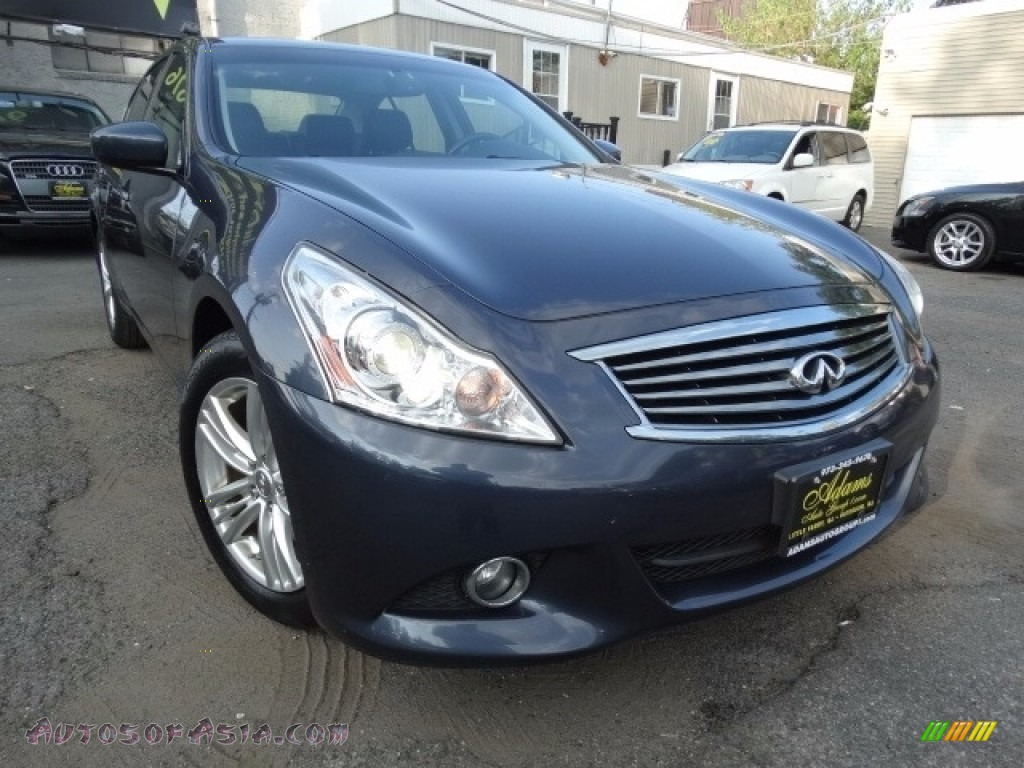 2012 G 37 x S Sport AWD Sedan - Graphite Shadow / Graphite photo #1