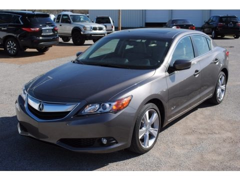 Polished Metal Metallic 2013 Acura ILX 2.0L Premium
