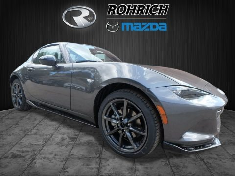 Machine Gray Metallic 2017 Mazda MX-5 Miata RF Club