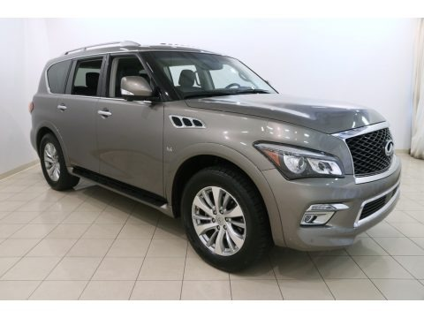 Smoky Quartz 2017 Infiniti QX80 Signature Edition AWD