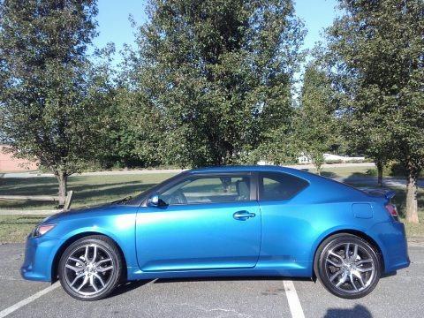 Blue Streak Metallic 2015 Scion tC