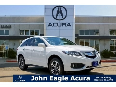 White Diamond Pearl 2018 Acura RDX AWD Advance