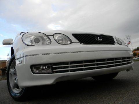 Diamond White Pearl 1999 Lexus GS 300