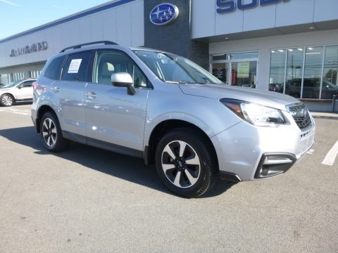 Ice Silver Metallic 2018 Subaru Forester 2.5i Limited