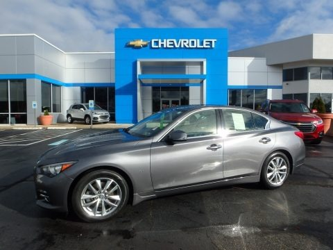 Graphite Shadow 2014 Infiniti Q 50 3.7 AWD Premium