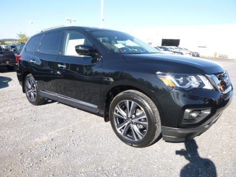 Magnetic Black 2018 Nissan Pathfinder Platinum 4x4