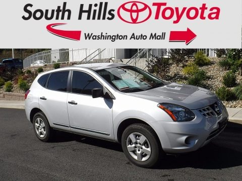 Brilliant Silver 2014 Nissan Rogue Select S AWD