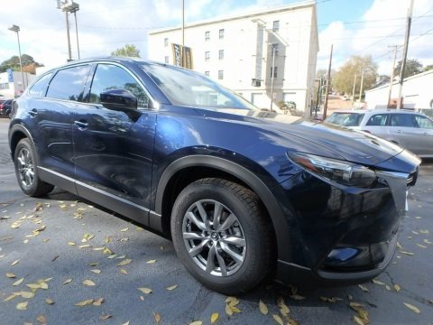 Deep Crystal Blue Mica 2018 Mazda CX-9 Touring AWD