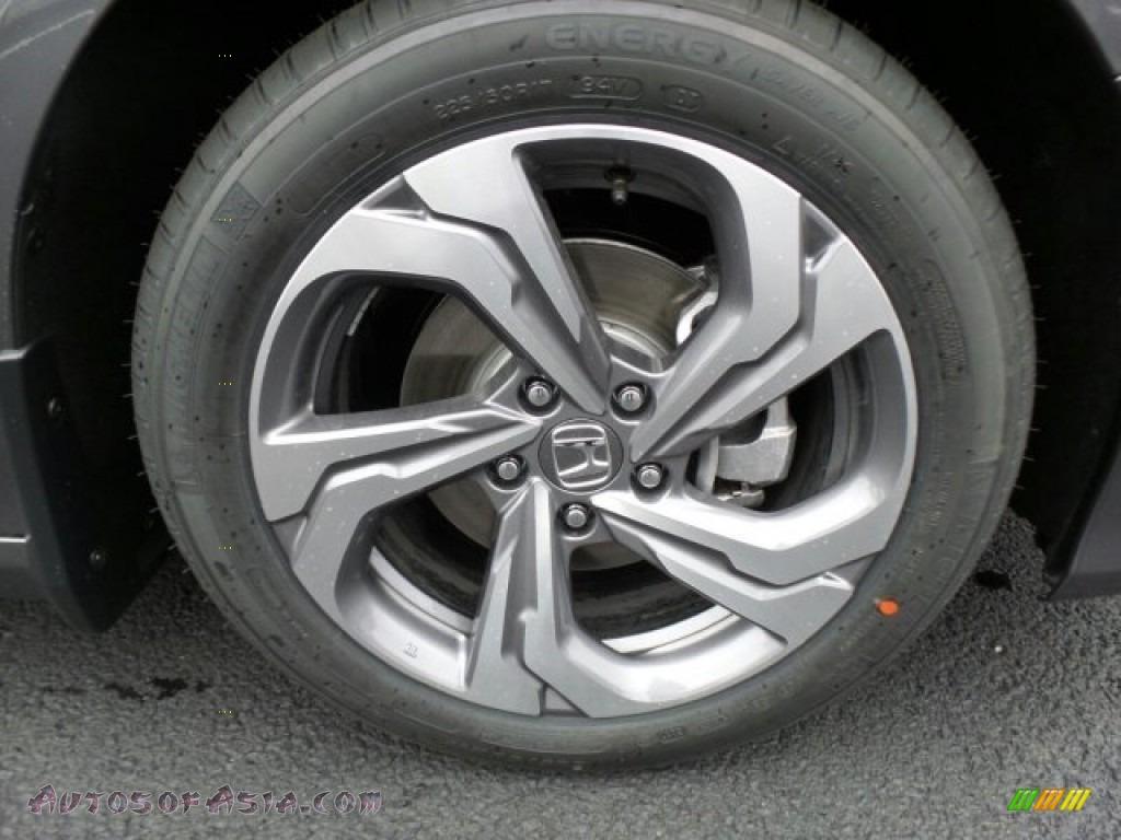 2018 Accord EX Sedan - Modern Steel Metallic / Black photo #4