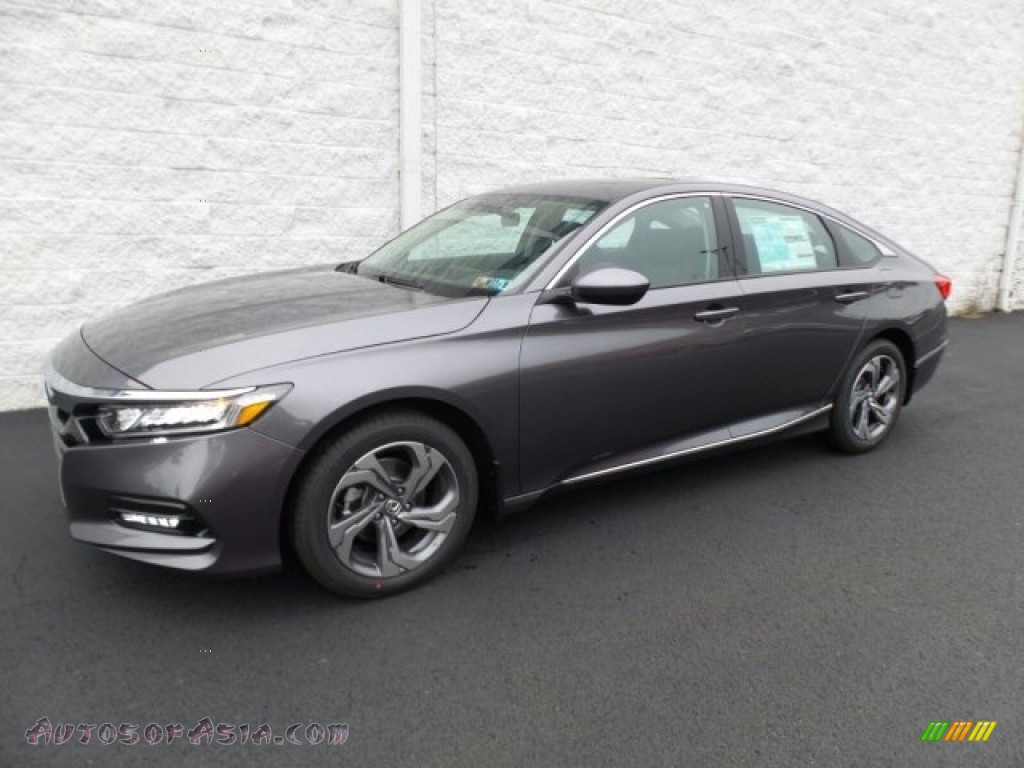 2018 Accord EX Sedan - Modern Steel Metallic / Black photo #5