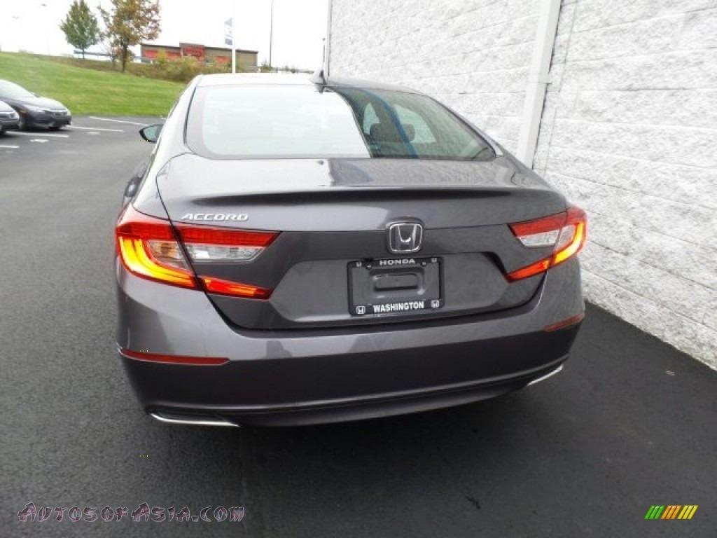 2018 Accord EX Sedan - Modern Steel Metallic / Black photo #7