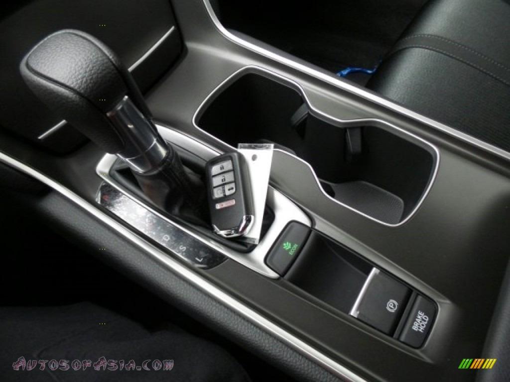 2018 Accord EX Sedan - Modern Steel Metallic / Black photo #24