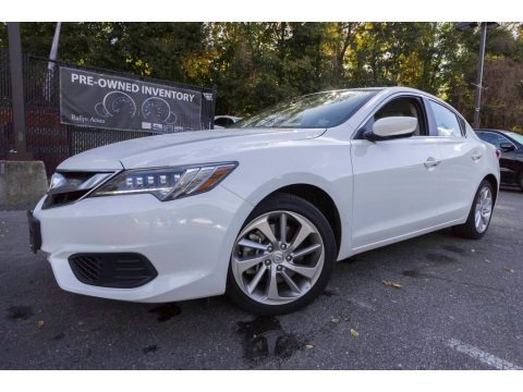 Bellanova White Pearl 2017 Acura ILX Technology Plus