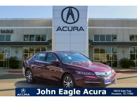Basque Red Pearl II 2015 Acura TLX 2.4