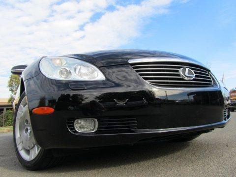 Black Onyx 2003 Lexus SC 430