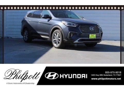 Night Sky Pearl 2018 Hyundai Santa Fe SE