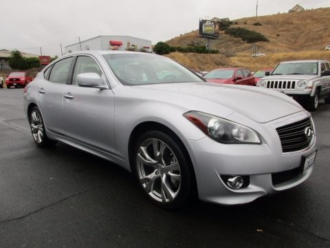 Liquid Platinum 2012 Infiniti M 37 Sedan