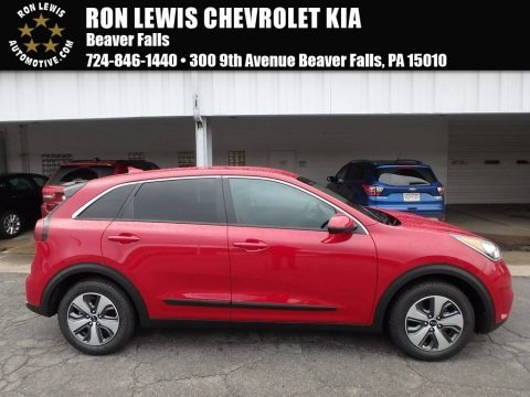 Crimson Red 2018 Kia Niro FE Hybrid