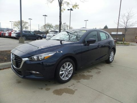 Deep Crystal Blue Mica 2018 Mazda MAZDA3 Sport 5 Door