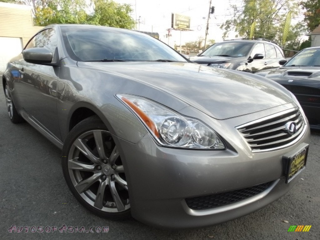 2009 G 37 S Sport Convertible - Platinum Graphite / Monaco Red photo #1