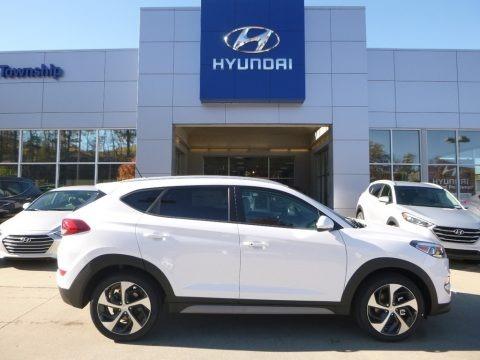 Dazzling White 2017 Hyundai Tucson Sport AWD