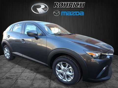 Machine Gray Metallic 2018 Mazda CX-3 Sport AWD