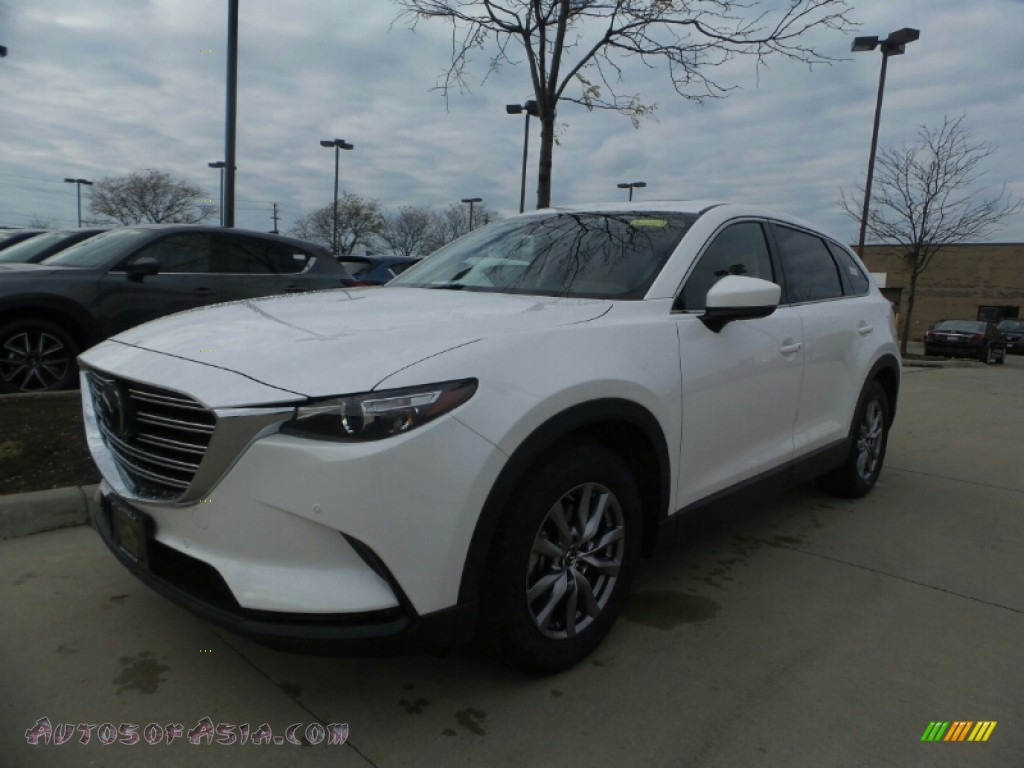 2018 CX-9 Touring AWD - Snowflake White Pearl Mica / Black photo #1