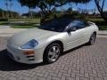 Mitsubishi Eclipse Spyder GS Dover White Pearl photo #37
