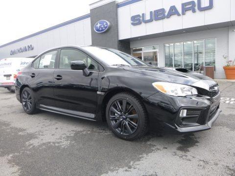 Crystal Black Silica 2018 Subaru WRX