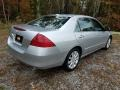 Honda Accord EX-L V6 Sedan Alabaster Silver Metallic photo #7