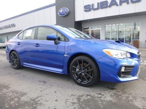WR Blue Pearl 2018 Subaru WRX Premium