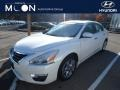 Nissan Altima 2.5 SL Pearl White photo #1
