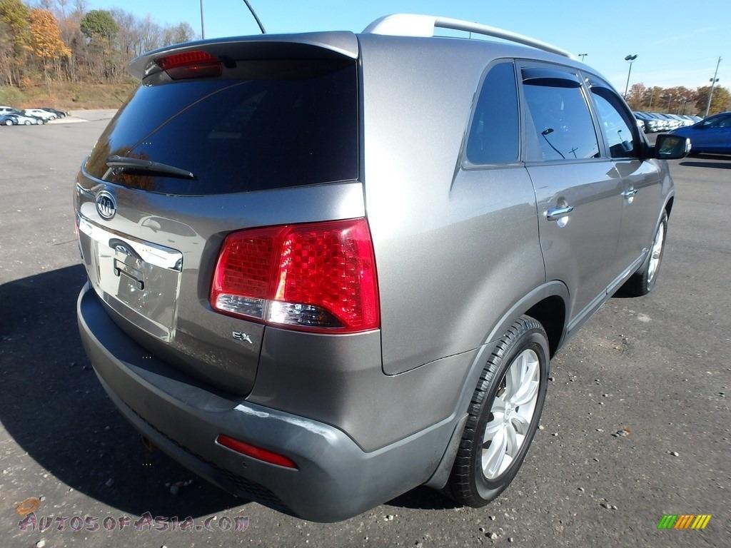 2011 Sorento EX AWD - Titanium Silver / Black photo #4
