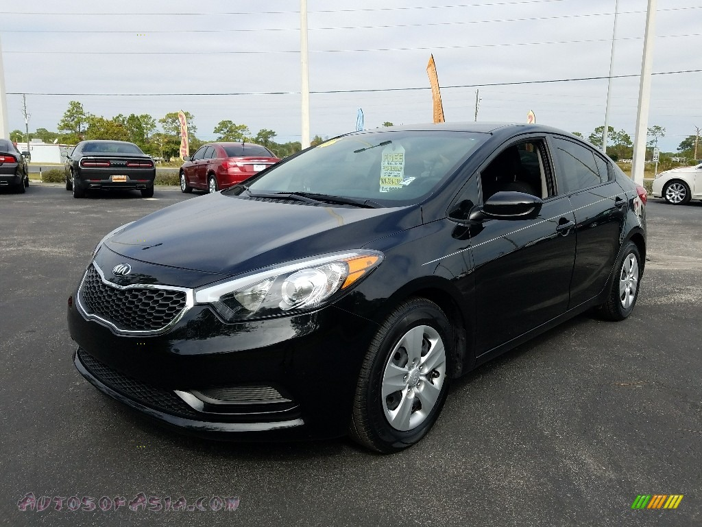 2016 Forte LX Sedan - Aurora Black Pearl / Black photo #1