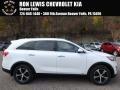 Kia Sorento EX 2.0T AWD Snow White Pearl photo #1