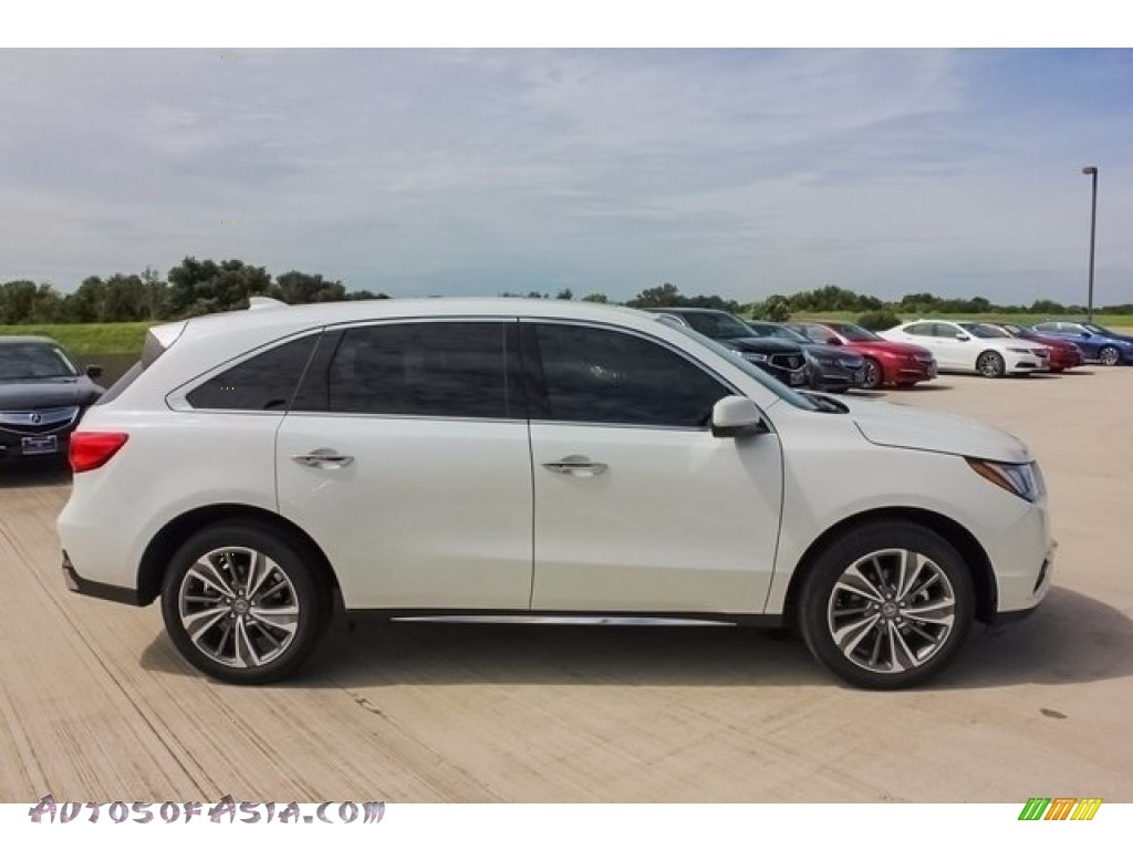 2018 MDX  - White Diamond Pearl / Parchment photo #8