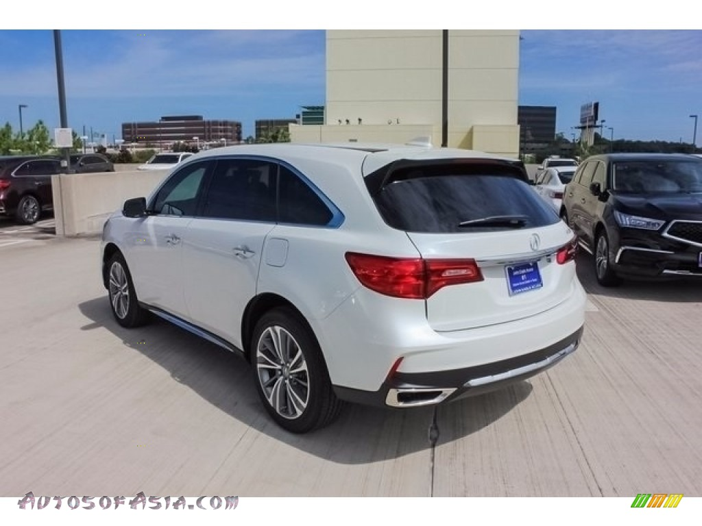 2018 MDX  - White Diamond Pearl / Parchment photo #5