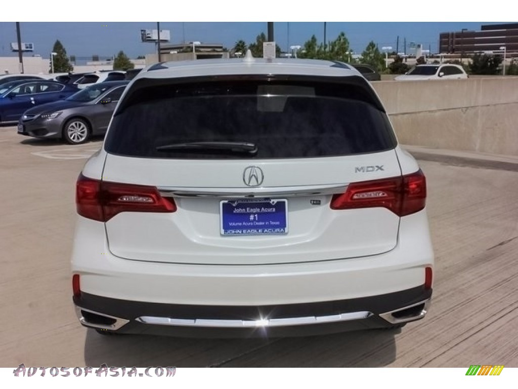 2018 MDX  - White Diamond Pearl / Parchment photo #6