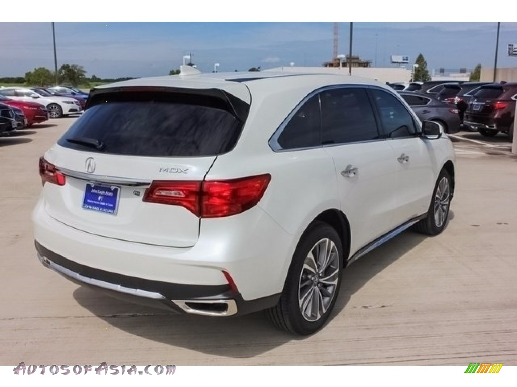 2018 MDX  - White Diamond Pearl / Parchment photo #7