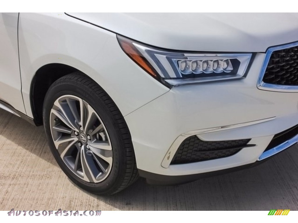 2018 MDX  - White Diamond Pearl / Parchment photo #10