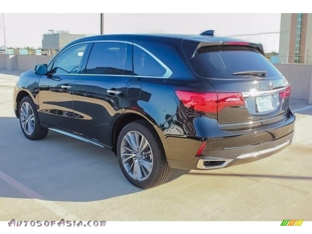2018 MDX  - Crystal Black Pearl / Ebony photo #5