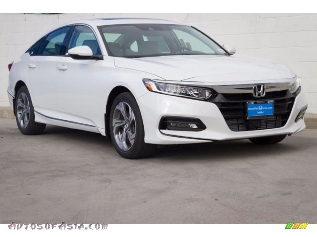 2018 Accord EX Sedan - Platinum White Pearl / Black photo #1
