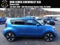 Kia Soul + Caribbean Blue photo #1