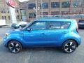 Kia Soul + Caribbean Blue photo #6