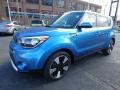 Kia Soul + Caribbean Blue photo #7