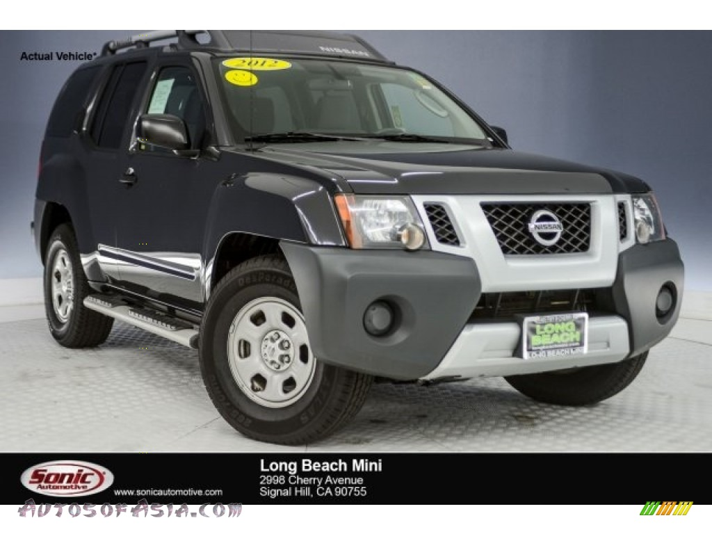 2012 Xterra X - Super Black / Gray photo #1