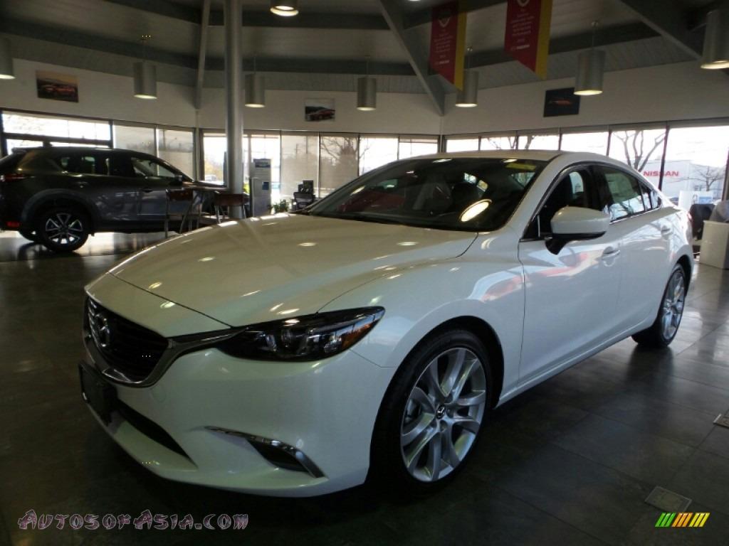 2017 Mazda6 Touring - Snowflake White Pearl Mica / Black photo #1