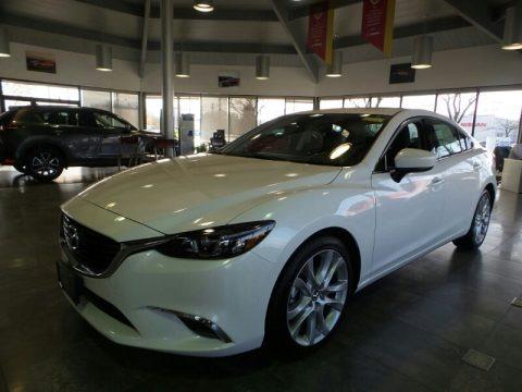 Snowflake White Pearl Mica 2017 Mazda Mazda6 Touring