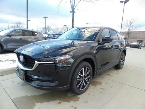 Jet Black Mica 2017 Mazda CX-5 Grand Touring AWD